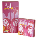 FEEL Studded Flavoured Condom - Pack of 12