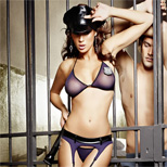 Baci Lingerie Night Patrol Police Officer Set - One Size