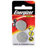 Energizer CR2025 Lithium Button Cell Battery 2pc