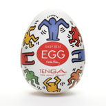 Tenga Keith Haring Egg Easy Beat Dance