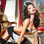Baci Dirty Laundry French Maid Set