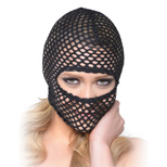Fetish Fantasy BDSM Series Fishnet Hood