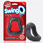 Screaming O SwingO Curve Cock And Balls Ring
