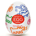 Tenga Keith Haring Egg Easy Beat Street