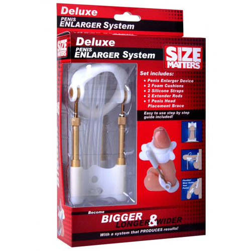 Size Matters Deluxe Penis Enlarger System Kit